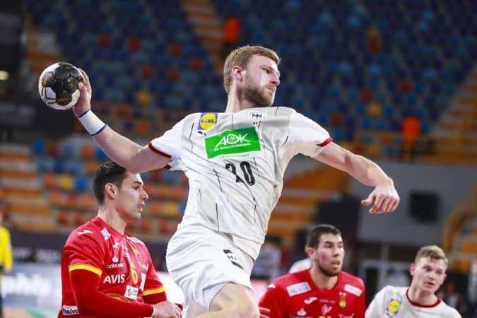Handball WM 2021 Ägypten - Deutschland vs. Spanien - Philipp Weber - Copyright: © IHF / Egypt 2021